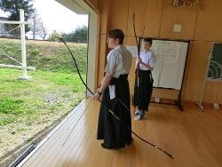 『初めての 弓道体験(1)』